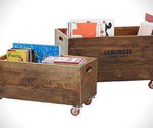 Pallet Style Storage Crates