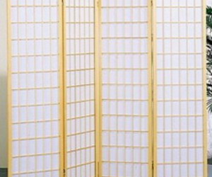 Panel Natural Room Divider Shoji Screen