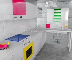 Pantone Kitchen Controlled via Smartphone
