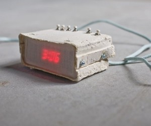Paper Alarm Clock by Joon & Jung