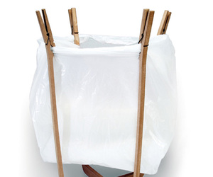 Clothes Pin Waste Basket