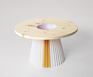 Paper coffee table