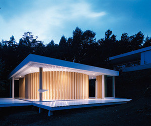 Paper House By Shigeru Ban Architects
