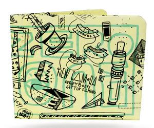 Paperwallet - Elna's Limited Edition Urban Art Tyvek Wallet