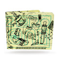 Paperwallet - Elna's Limited Edition Urban Art Tyvek Wallet