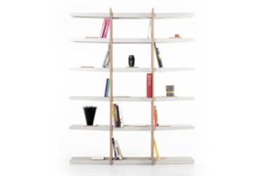 Paraleelos: Bookcase by Masiosare Studio