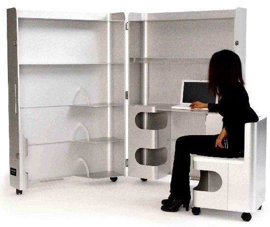 Paramount office workstation furniture for Meuble bureau qui se ferme