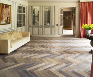 Parquet Wood Flooring by Ebony and Co
