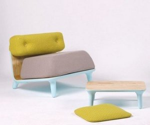 'Pastel' low chairs