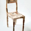 Patchwork Chair by Amy Hunting