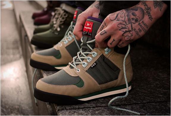 08874521164c Patta x Kangaroos Hiking Boots