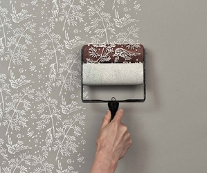 Patterned Wallpaper Rollers