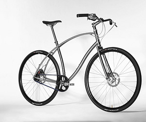 Paul Budnitz Bicycles, Unique Titanium Frames