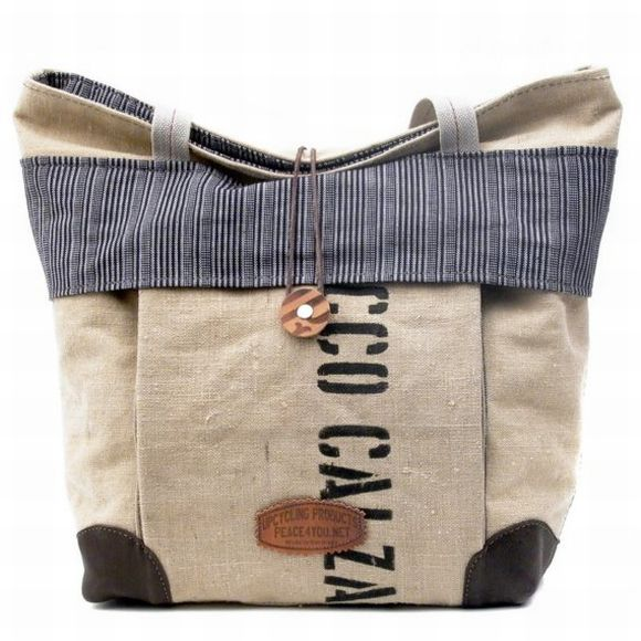 Peace4you Designs Eco Friendly Bag From Recycled Material