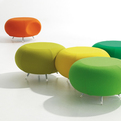 Pebble:Sculptural and Modular Lounge