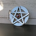 Pentangle Belt Buckle