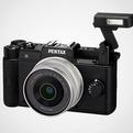 Pentax Q-black Camera
