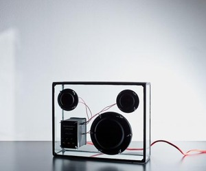 People People's Transparent Speaker Concept