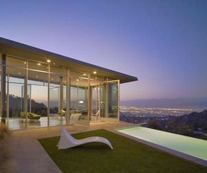 Perched on the edge of the Hollywood Hills