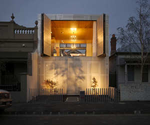 Perforated House by Kavellaris Urban Design