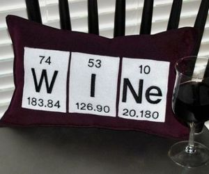 Periodic Table WINE Pillows