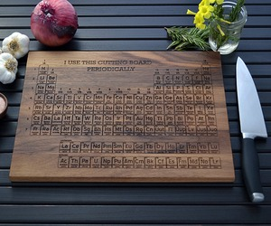 Period Table Cutting Board