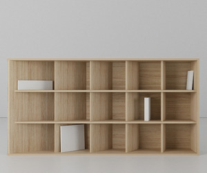 Perspective shelf by Fuquan Junze
