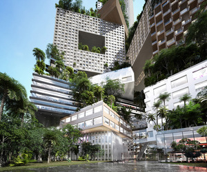 Peruri 88 Concept for Jakarta by MVRDV, Jerde and ARUP
