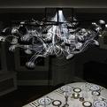 Petri Dish Chandelier by MADLAB