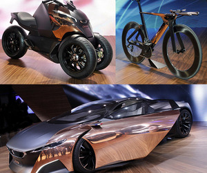 Peugeot Onyx Supercar, Superbike and SuperScooter