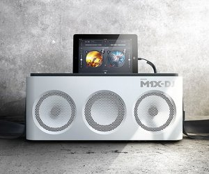 Philips M1X-DJ iPad Dock and DJ Mixing Deck
