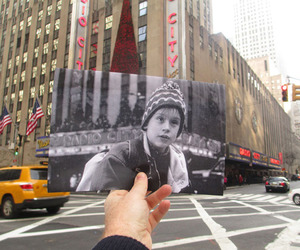 FILMography | Movie Photos Held Up in Front of Locations