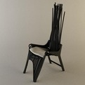 Pianist Easy Chair by Jodie Darmawan