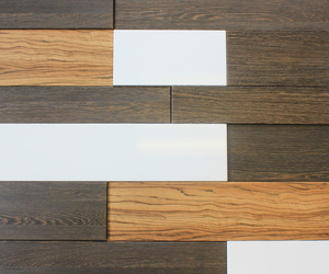 Piastra - Modern Twist On Reclaimed Wood - Textured Walls