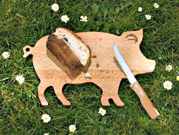 Pig Board Pig-shaped Wood Cutting Board