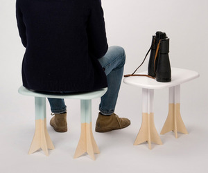 Pig on the wings Table/Stool by Gentle Giants