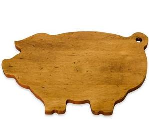Pig-Shaped Cutting Board by J.K. Adams