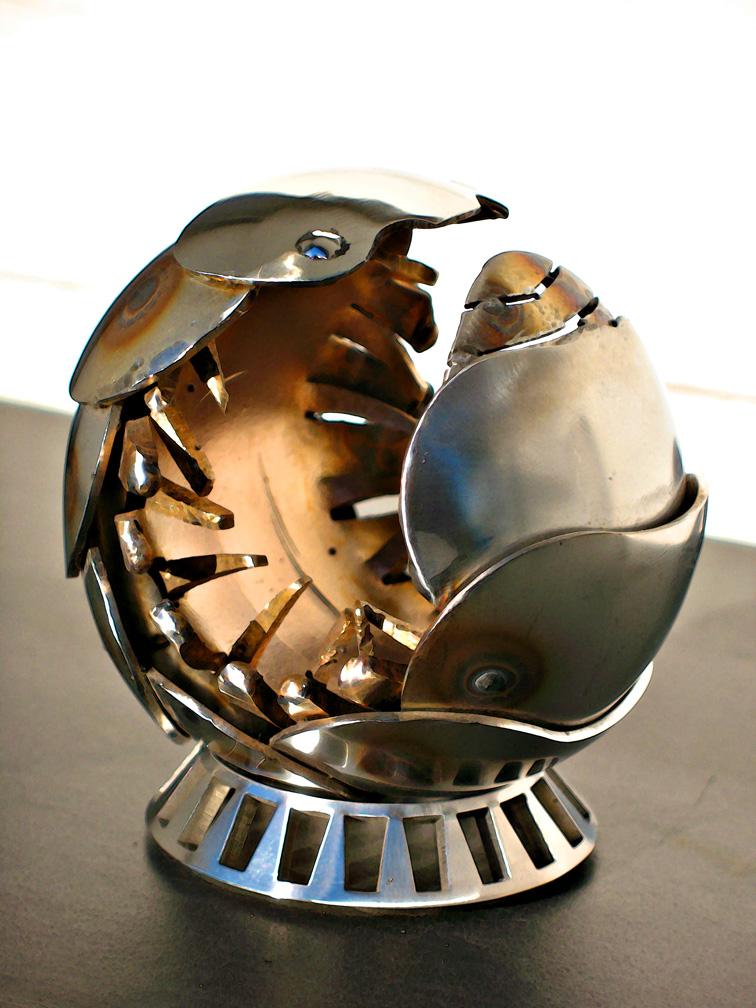 Pillbug Sculpture