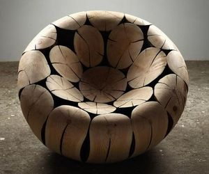 Pine and Chestnut Chair By Jaehyo Lee
