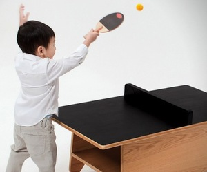 Ping Pong Coffee Table by Huzi Design