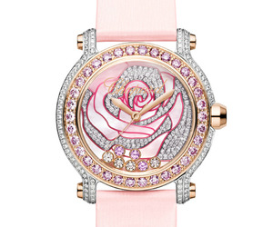 Pink Floral Watches by Chopard