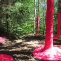 Pink Punch installation by Croft and MacLeod
