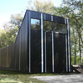 Pinstripe House by buildingstudio