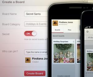 """Pinterest Launches """"Secret Boards"""""""