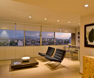 Piso 11 Apartment by Agraz Arquitectos