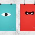 Pixar Minimal Posters by Wonchan Lee