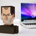 Pixel Steve Jobs Bust
