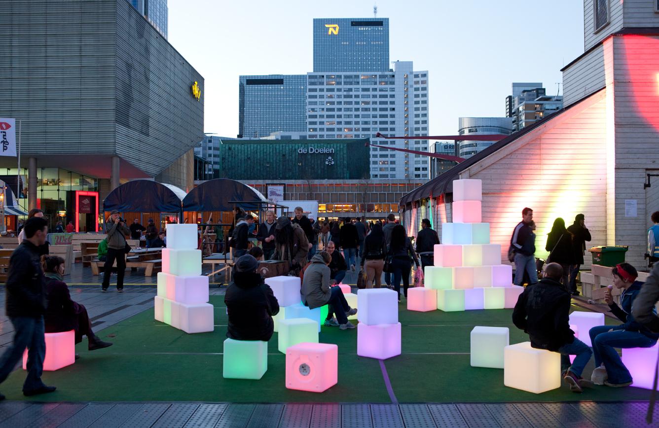 Pixels Interactive Art Installation