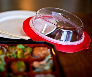 Plate Topper Universal Suction Lid
