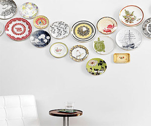Plates as Wall Decoration Design Interior Room